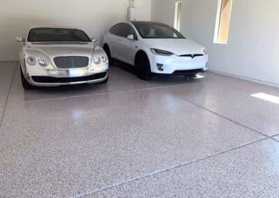 Epoxy & Concrete Floor