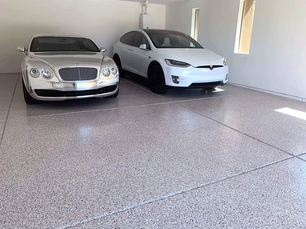 Inspired by modern concrete floor