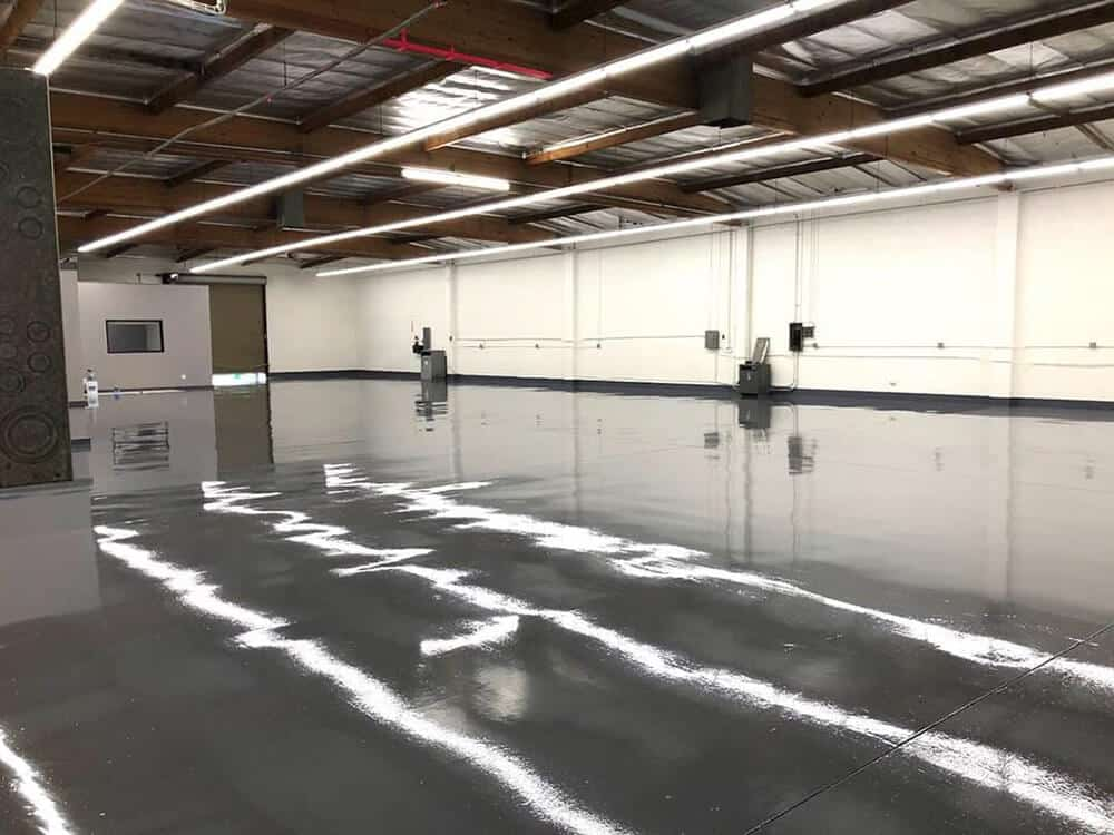 Commercial Epoxy Cove Base