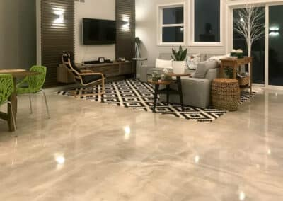 5 Creative Treatments for Concrete Floors