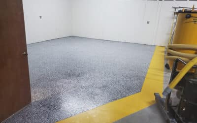 Epoxy Flooring Is A Great Choice For Your High Traffic Areas: Here's Why