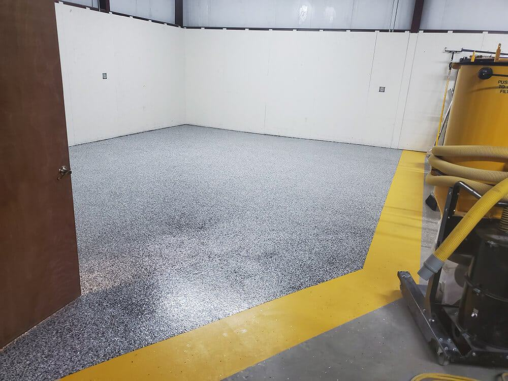 epoxy flooring in commercial facility