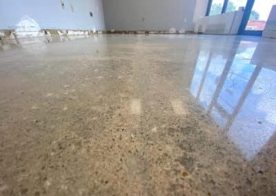 polished concrete floor in sarasota florida