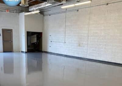 floors after epoxy coating