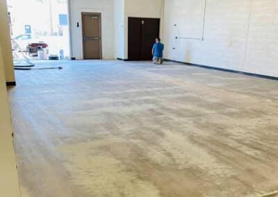floors before epoxy coating