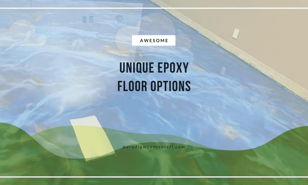 Unique Epoxy Floors