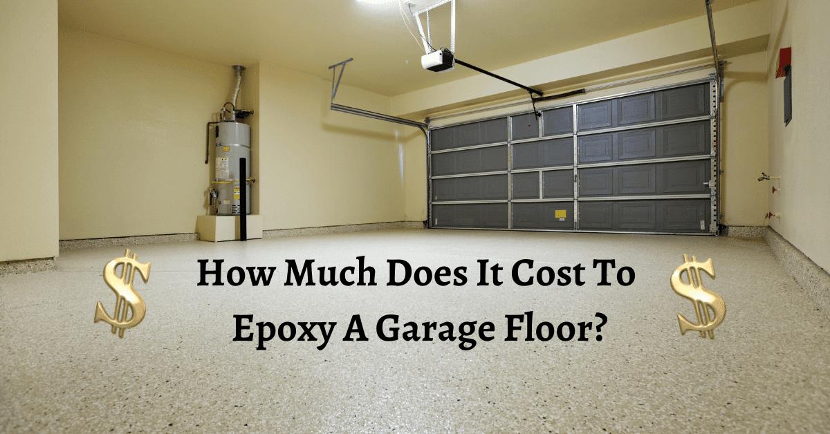 Epoxy On Garage Floor